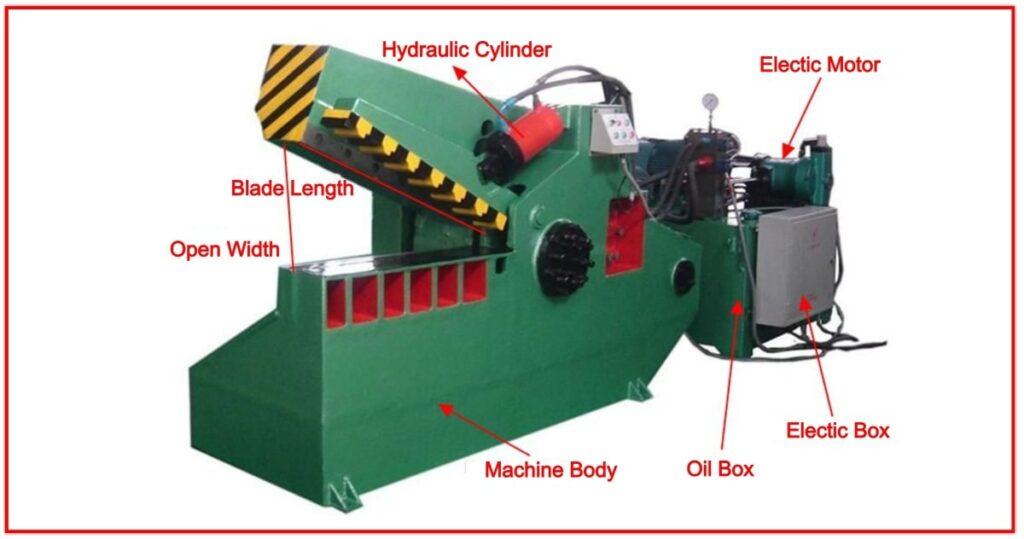 Alligator shear Cutting Tools Machine