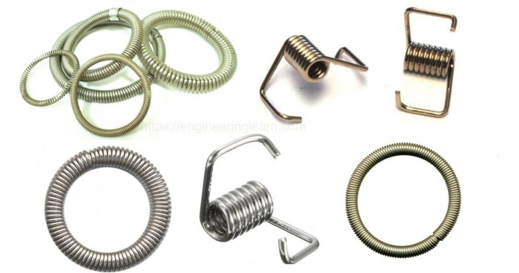 Garter spring, Oil seal spring, Spring belt