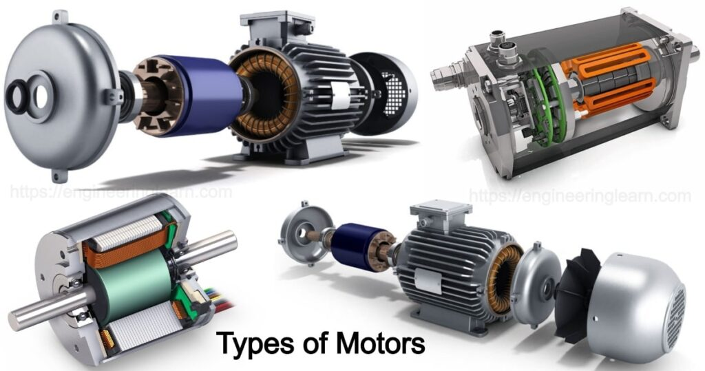 Types of Motors And their use