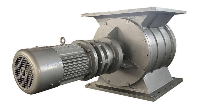 Abrasion Resistant Rotary Airlock Valve