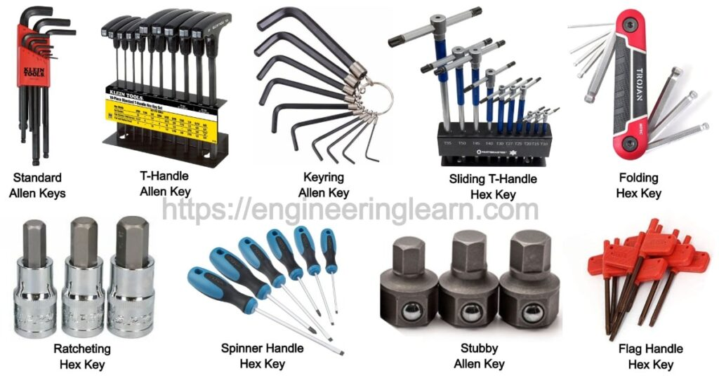 Types of Allen Keys and Their Uses [with Pictures]