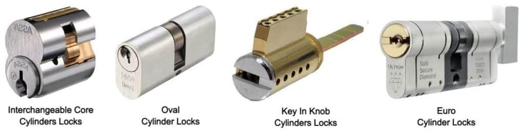 Types of Cylindrical Locks