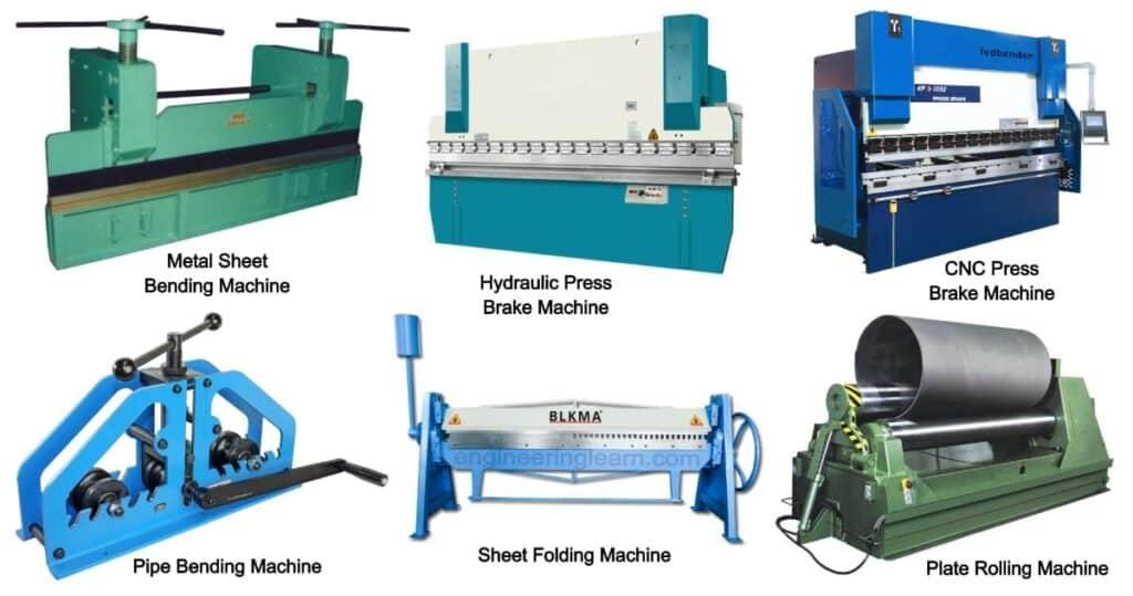 Bending Machine: Definition, Types, Parts, Working, Application & Advantages