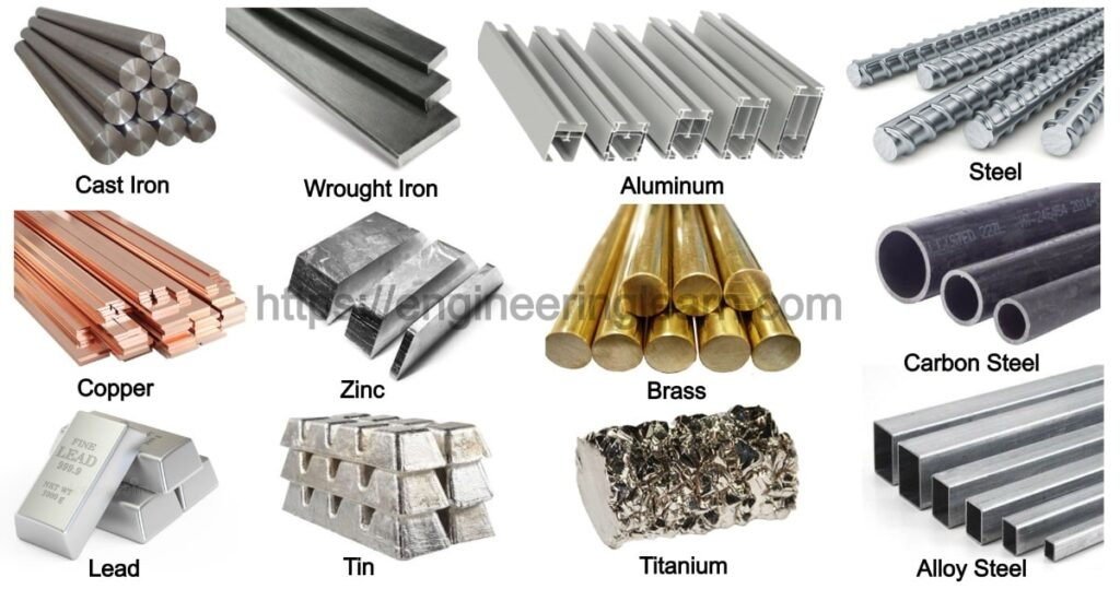 Types of Metals and Their Uses [with Pictures]