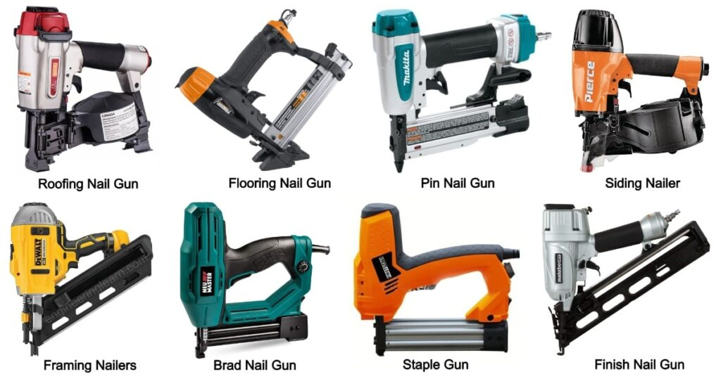 Types of Nail Guns and Their Uses [with Pictures]