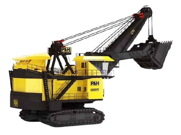Power Shovel Excavator