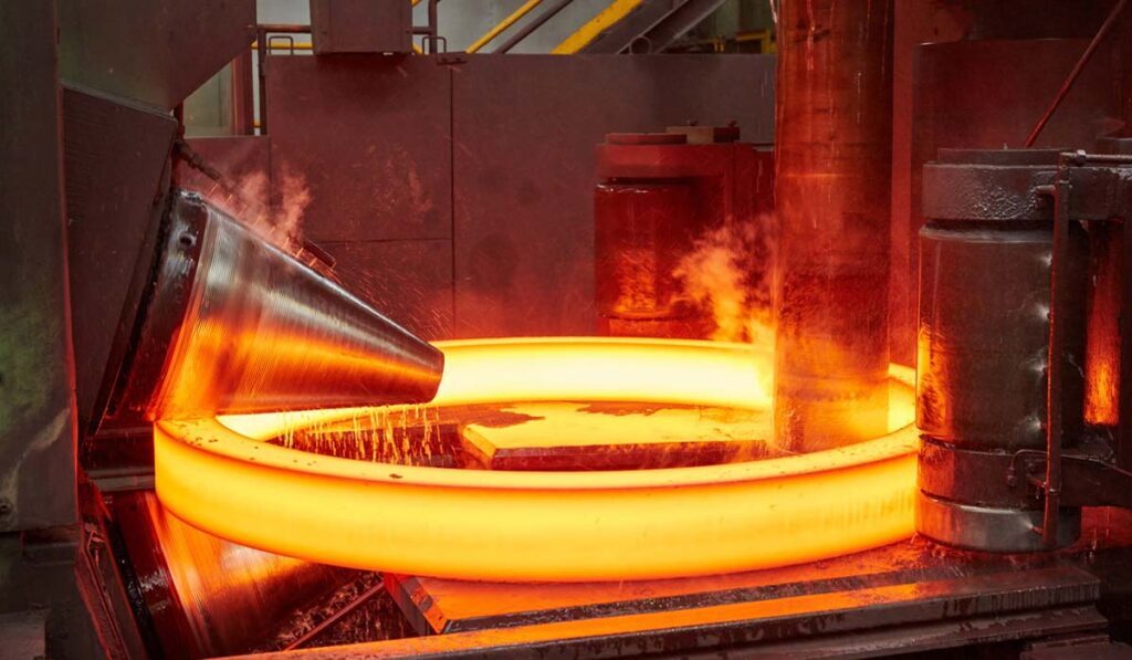 Seamless Rolled Ring Forging